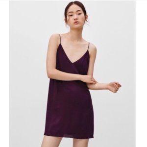 Aritzia Wilfred Free Slip Dress Mini 90s Vibe